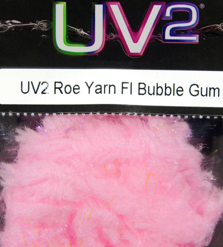 Hareline Dubbin UV2 Roe Yarn,