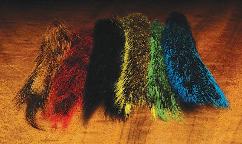 Hareline Dubbin Squirrel Tail Combo