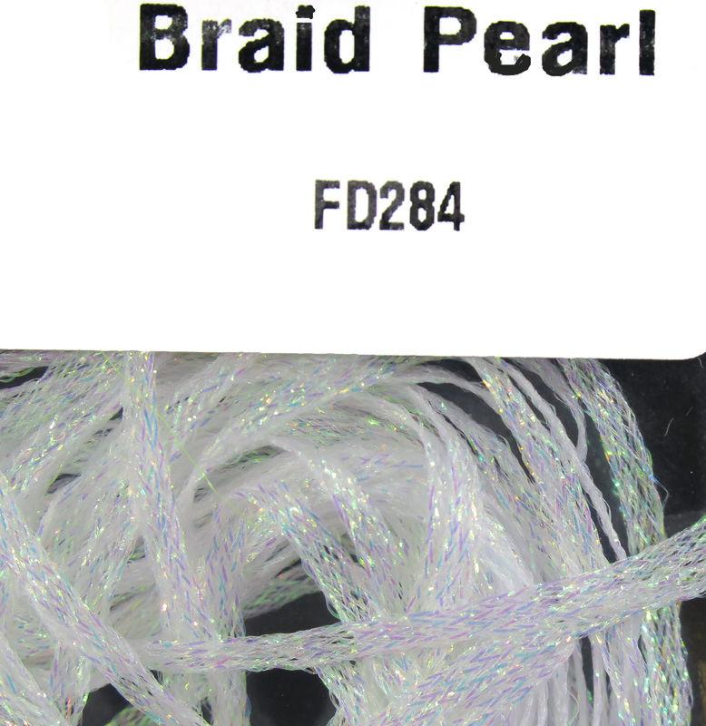 Hareline Dubbin Flat Diamond Braid,