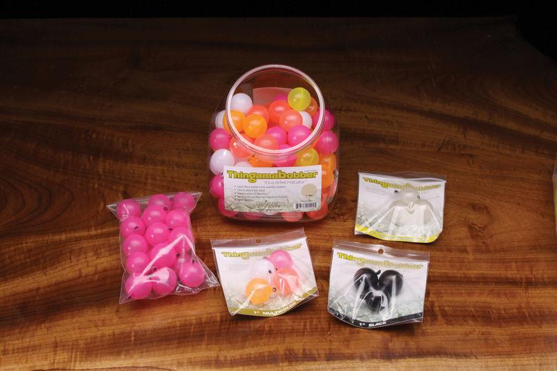 "Hareline Dubbin Thingamabobbers 1"" Multicolored 4 pack"
