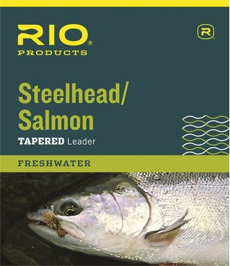 Rio Products Rio Salmon/Steelhead Glacial Green Leader 3-Pack 9ft