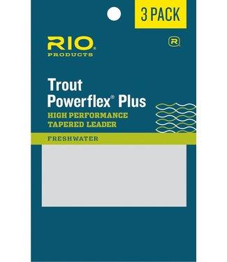 Rio Products Rio Powerflex Plus Leader 3 pack,