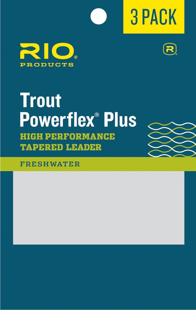 Rio Products Rio Powerflex Plus Leader 3 pack,