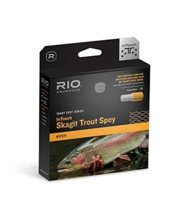 Rio Products Rio Intouch Skagit Trout Spey Line,