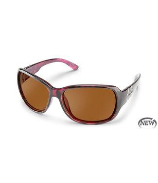 Suncloud Suncloud Sunglasses, Violet Havana/Polar Brown Limelight