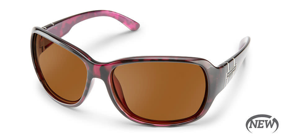 Suncloud Suncloud Sunglasses, Violet Havana/Polar Brown Limelight