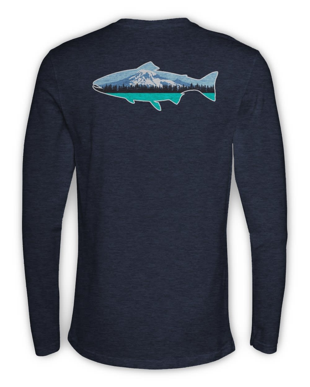 Rep Your Water RepYourWater Washington Long Sleeved Tee
