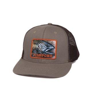 Fishpond Fishpond Slab Trucker Hat, Sandstone/Brown