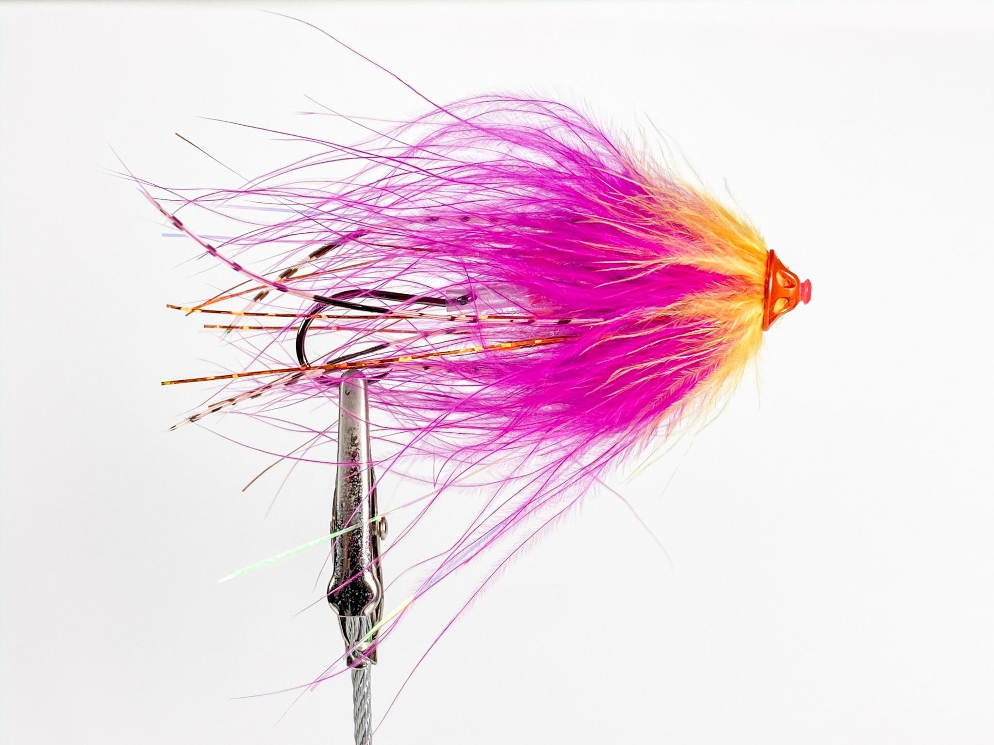 Aqua Flies Stu's Metal Head Tube Fly