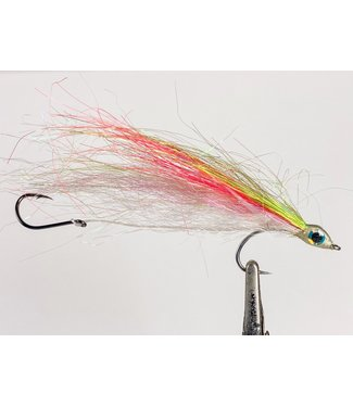 Gig Harbor Fly Shop Salmon Bucktail Size 2 w/ size 4 stinger