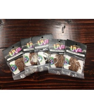 Spirit River Spirit River UV2 Speckled Chenille Assortment Pack, Dark Color - 5 Pack