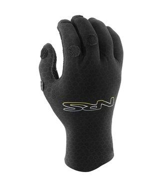 NRS NRS HydroSkin 2.0 Forecast Gloves Black,