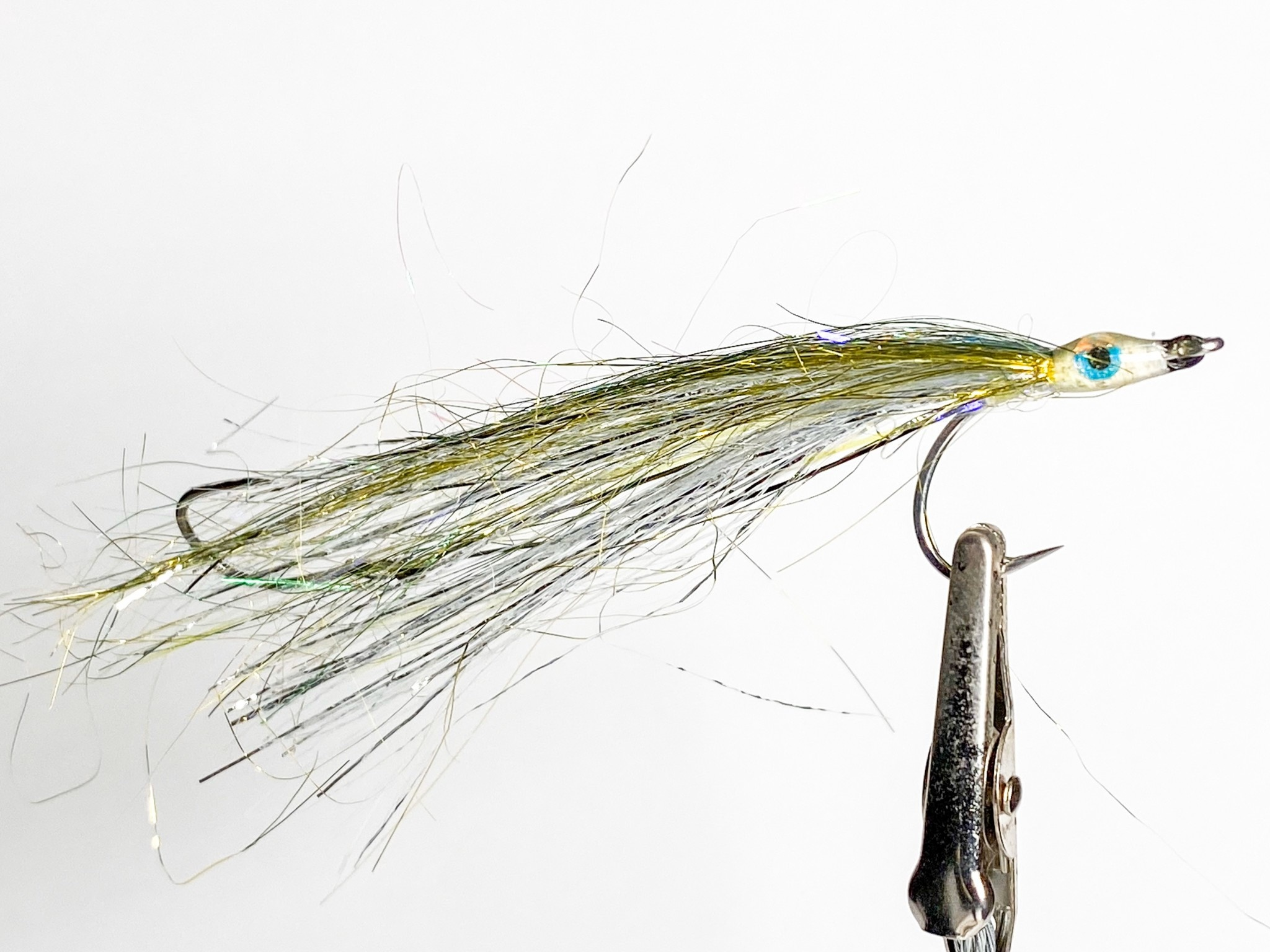 Gig Harbor Fly Shop Salmon Bucktail Size 2 w/ size 4 stinger
