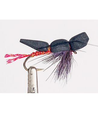 Gig Harbor Fly Shop Pom Skater Nightshade size 4