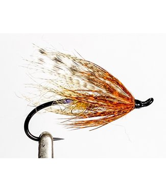 Aqua Flies Hartwick's Brown Hilton Brown/Orange size 6