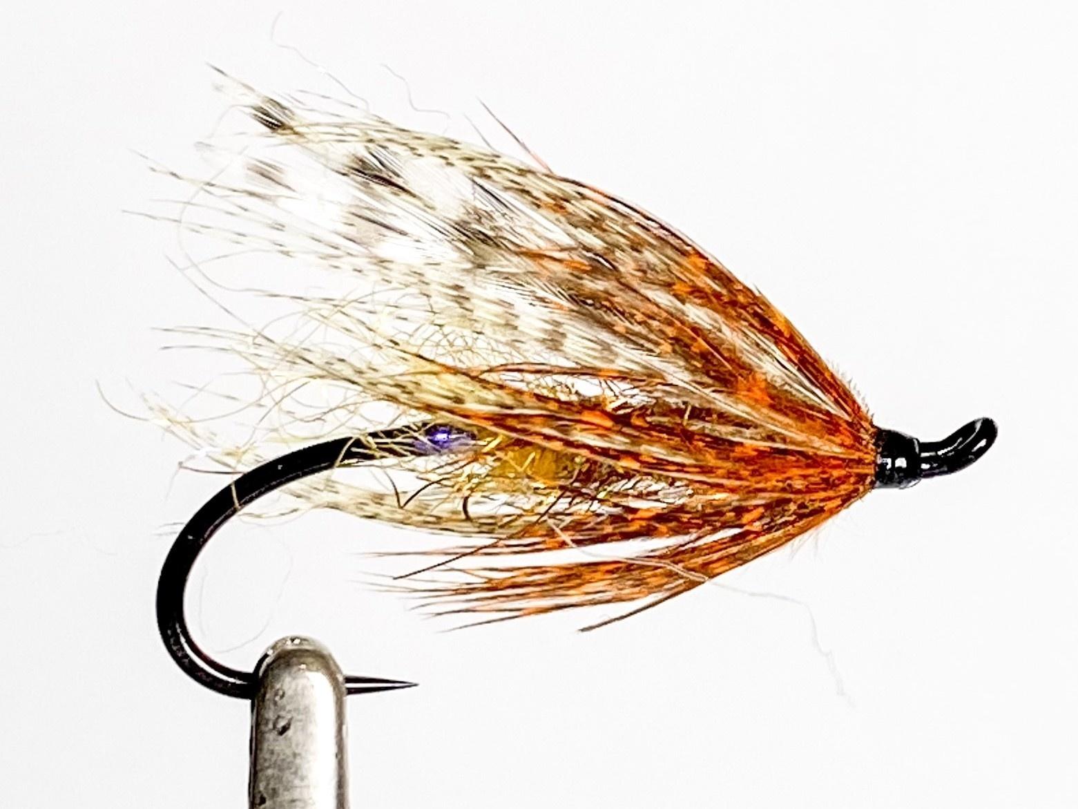 Aqua Flies Hartwick's Brown Hilton Brown/Orange size 6