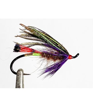 Aqua Flies Hartwick's Sword Fighter Peacock/Purple size 6