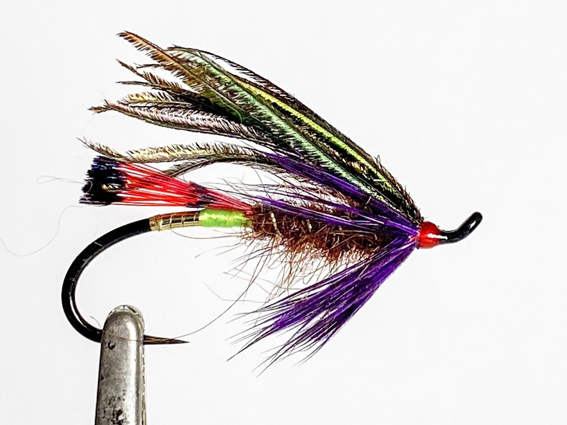 Aqua Flies Hartwick's Sword Fighter Peacock/Purple size 6