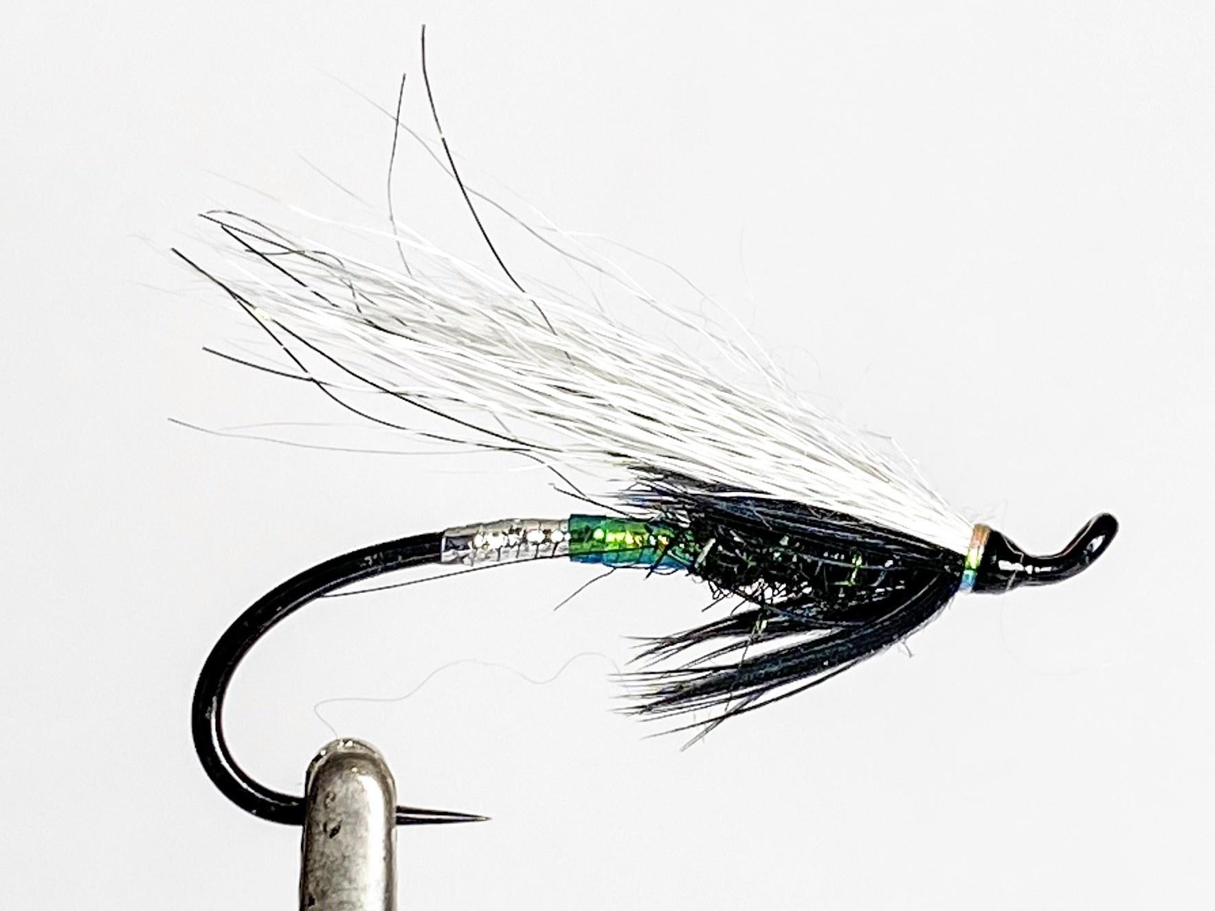 Aqua Flies Green Burlesque Black/Green size 8
