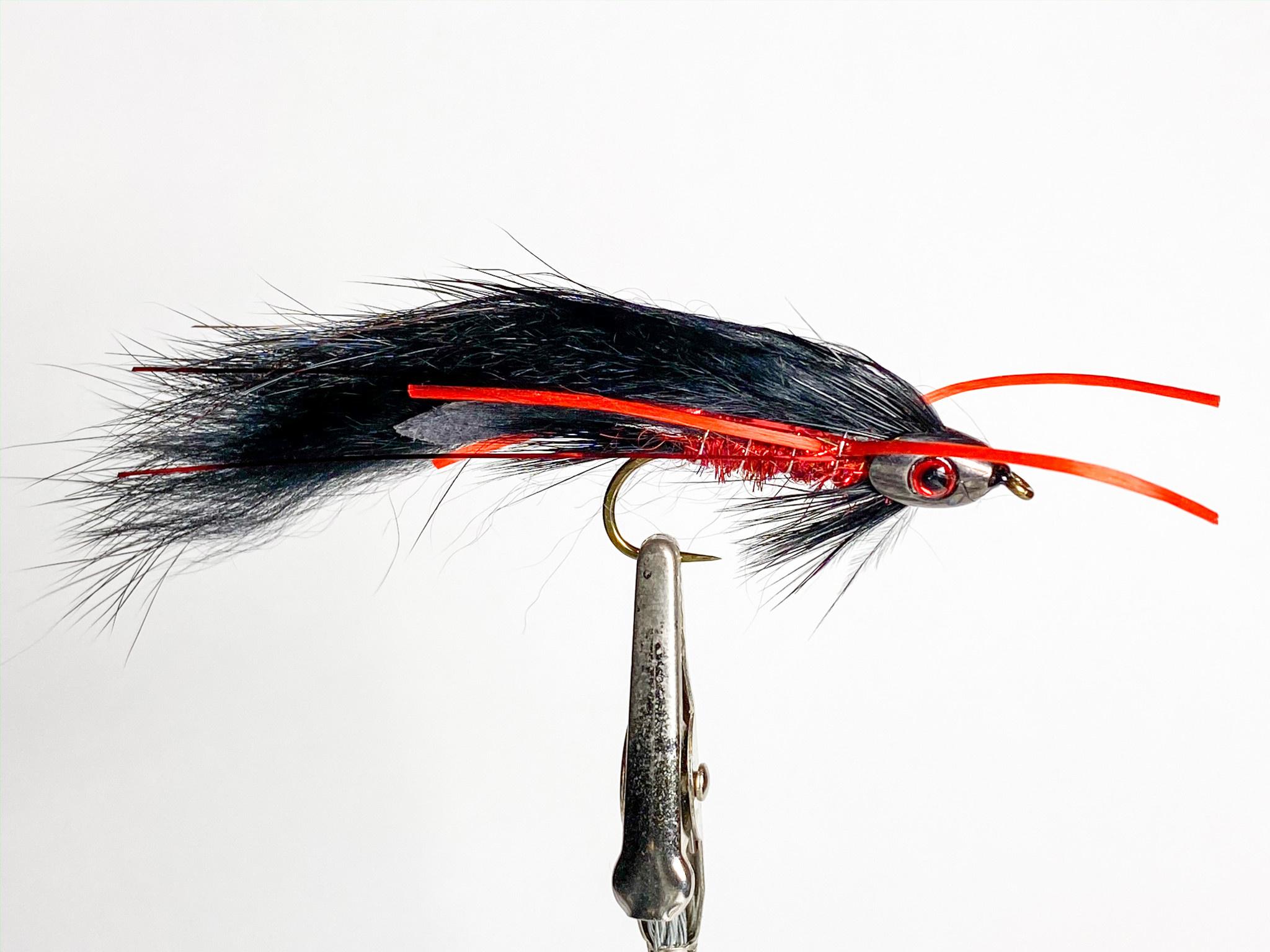Aqua Flies Fish Skull Zonker size 6