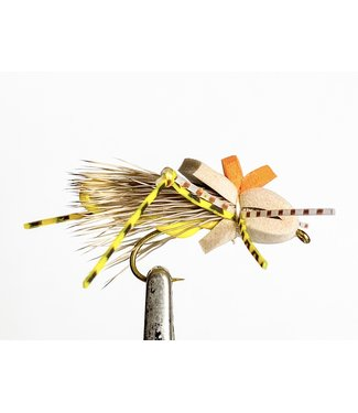 Solitude Flies Cuf Hopper Tan size 8