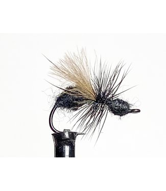 Solitude Flies CDC Ant Black size 14