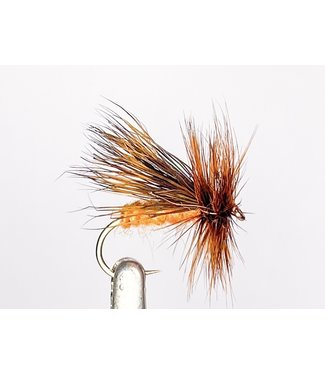 Hareline Dubbin October Caddis size 10