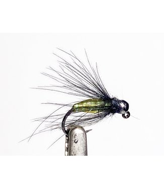 Fulling Mill Callie's Jiggable Caddis Barbless size 14