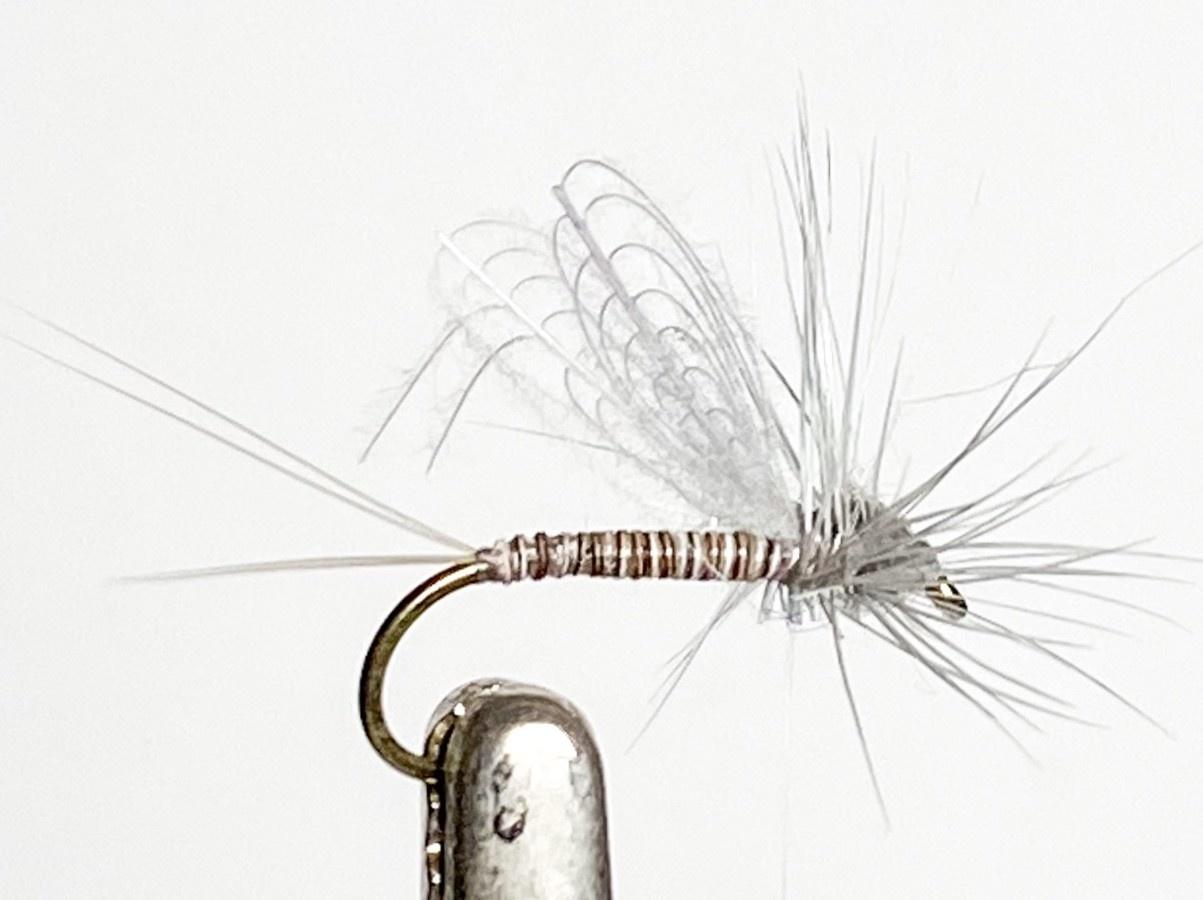 Solitude Flies CDC Dun Callibaetis size 14