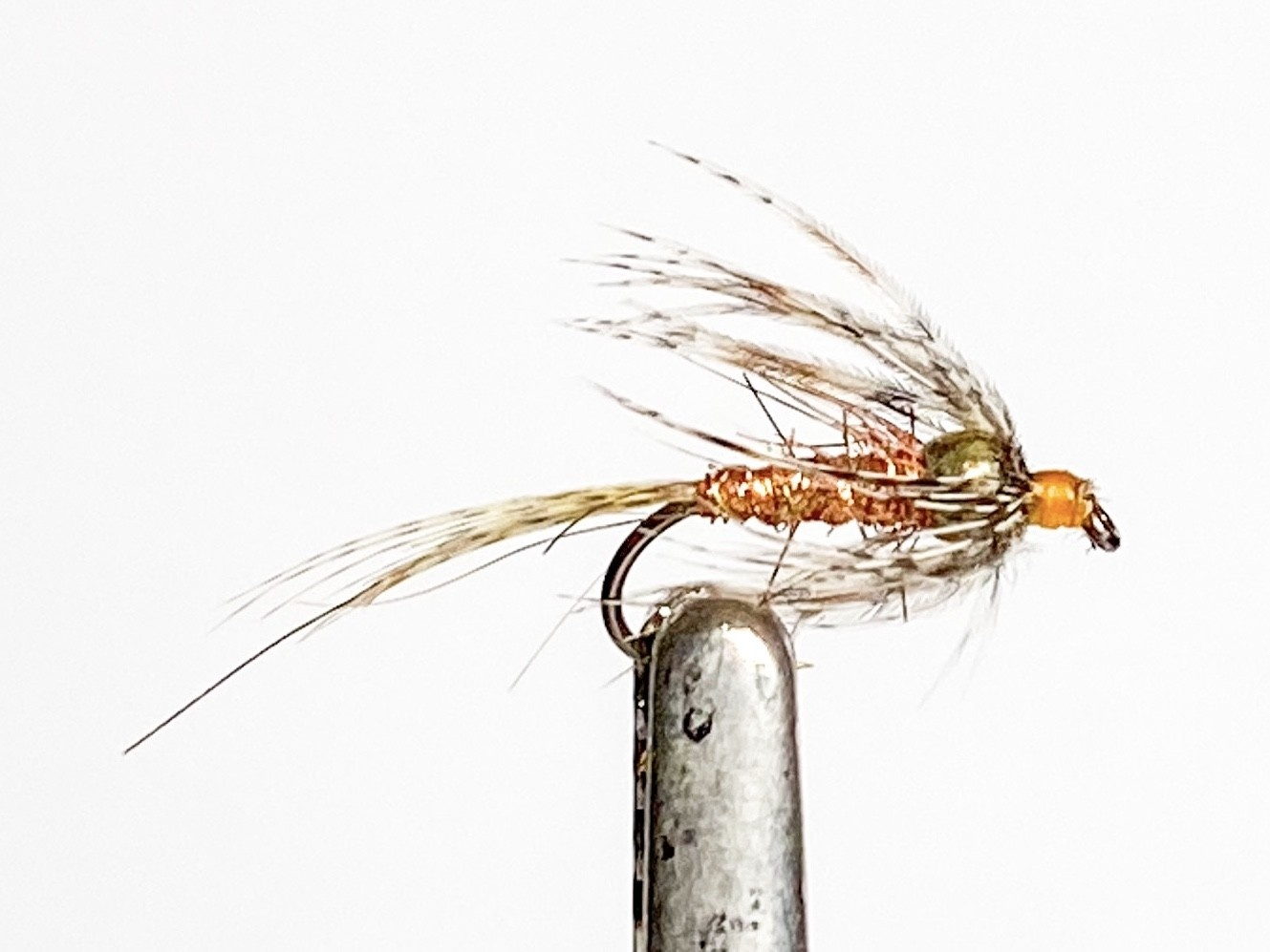 Solitude Flies Soft Hackle Thorax Bead size 14