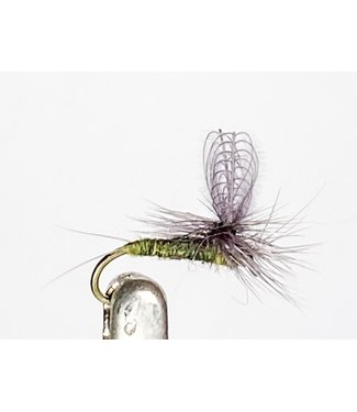 Solitude Flies CDC Dun Baetis size 18