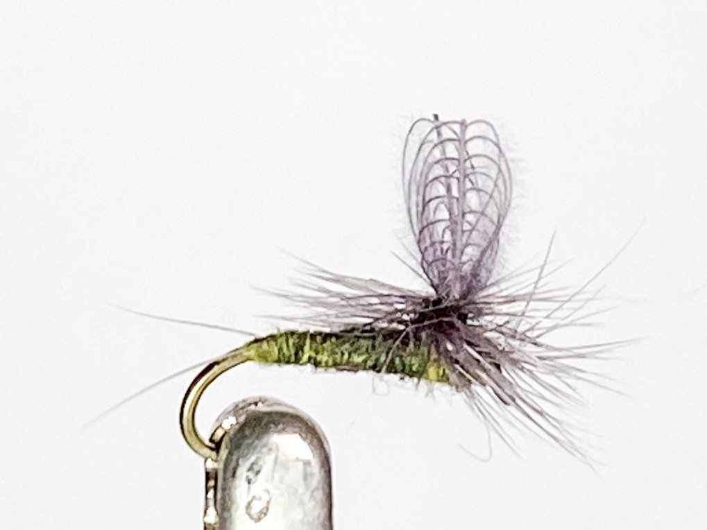Solitude Flies CDC Dun Baetis size 18