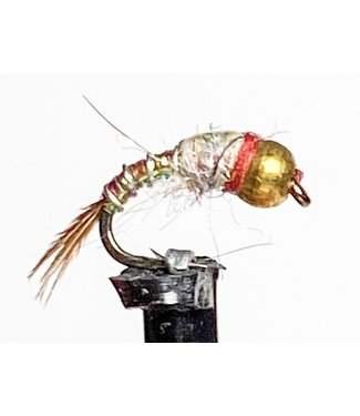 Catch Flies Beadhead Rainbow Warrior size 18