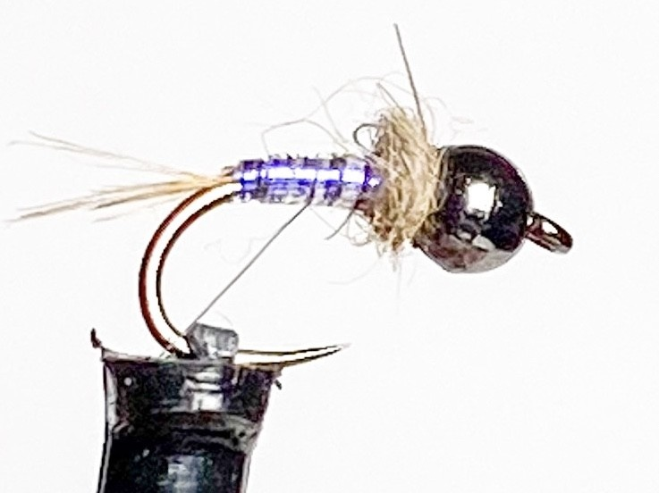 Fulling Mill Tactical UV Nymph Black size 16 Barbless