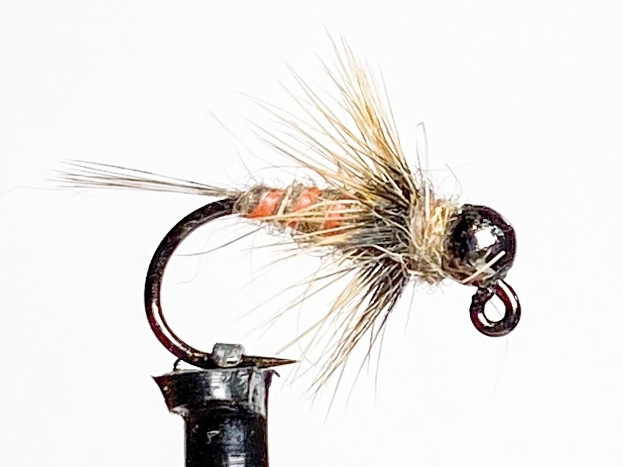 Fulling Mill KJ Hot Rib Hare's Ear size 16