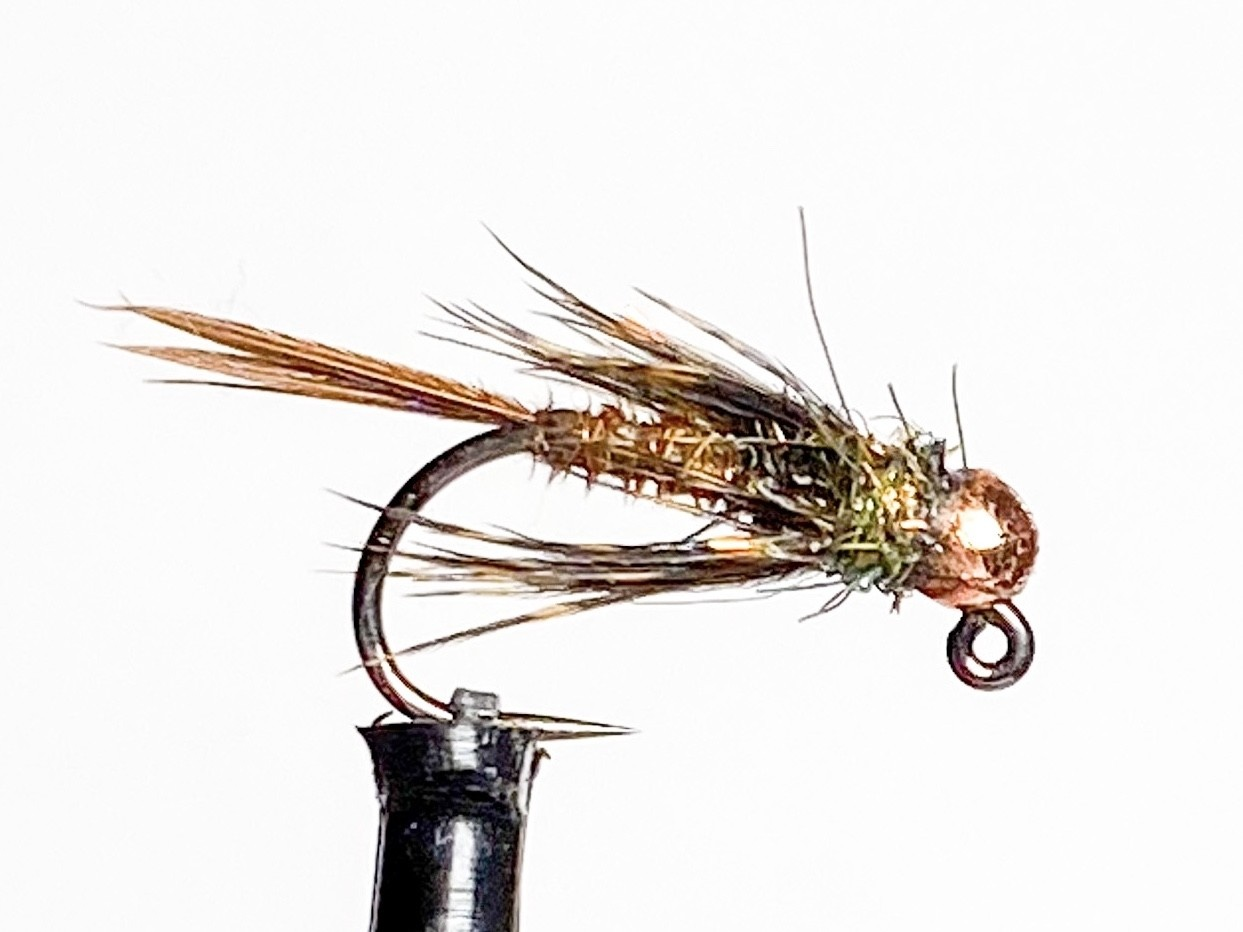Fulling Mill Soft Hackle Pheasant Tail Jig Barbless