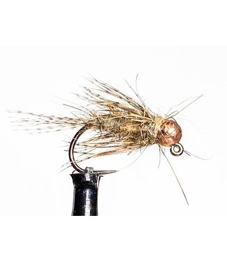 Fulling Mill March Brown Jig Barbless size 14