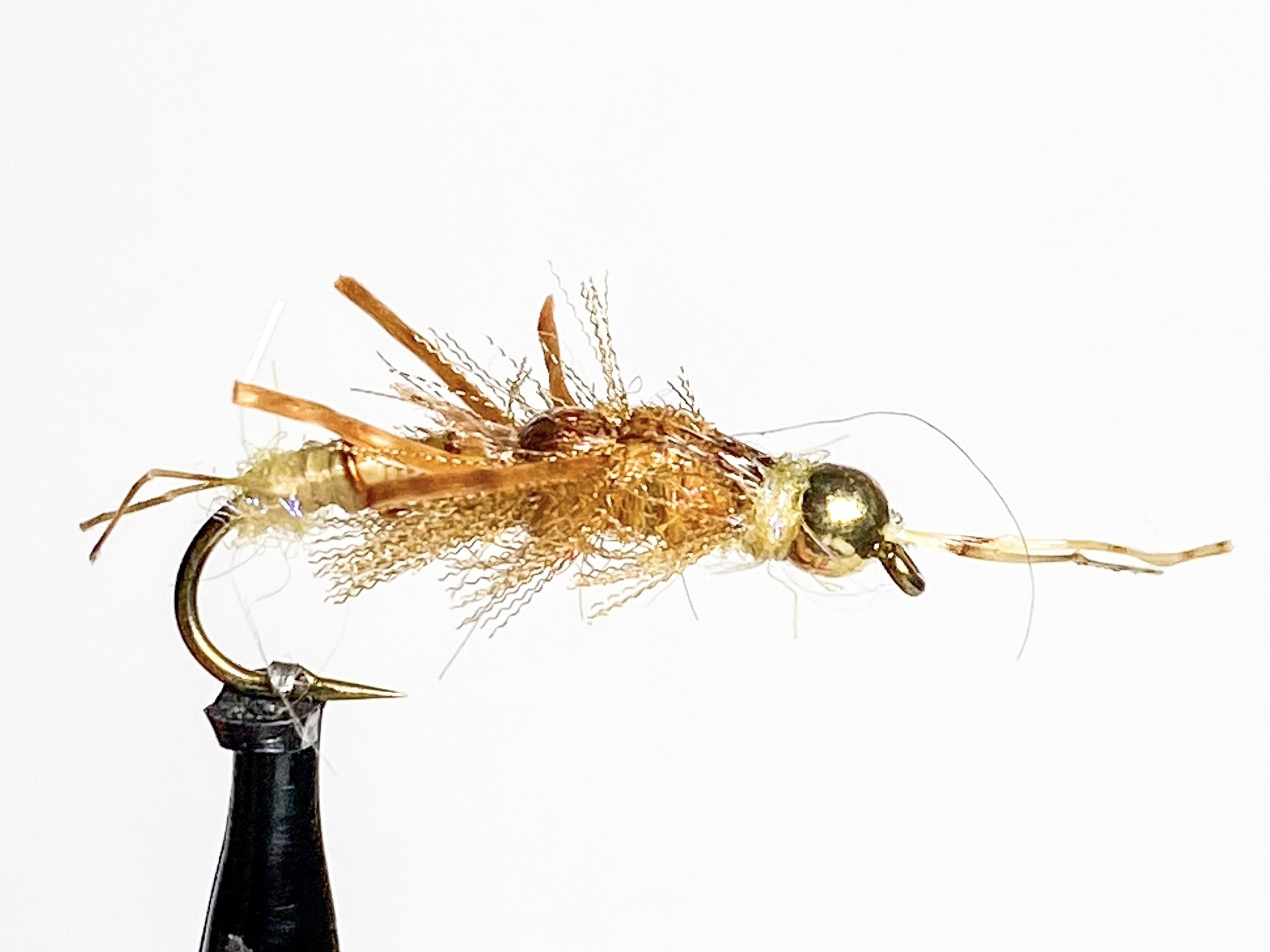 Solitude Flies Tungsten Terminator Stone Golden size 8