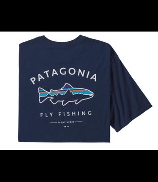 Patagonia Patagonia M's Framed Fitz Roy Trout Organic T-Shirt,