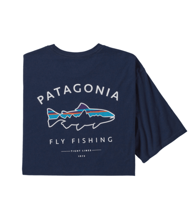 Patagonia Patagonia M's Framed Fitz Roy Trout Organic T-Shirt,