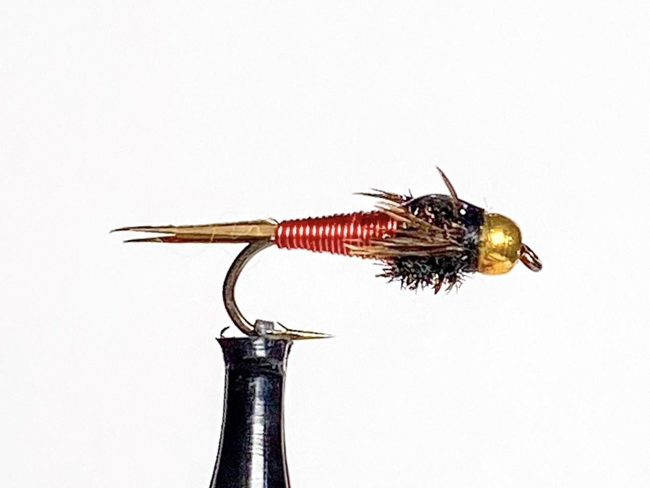 Catch Flies Beadhead Copper John Red