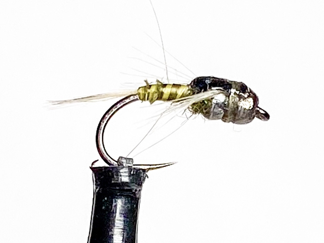 Fulling Mill Twisted Mayfly (double tungsten beads)