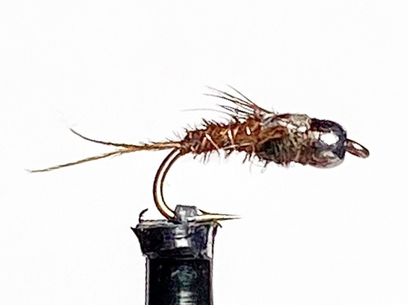 Solitude Flies Beadhead Anatomical BWO