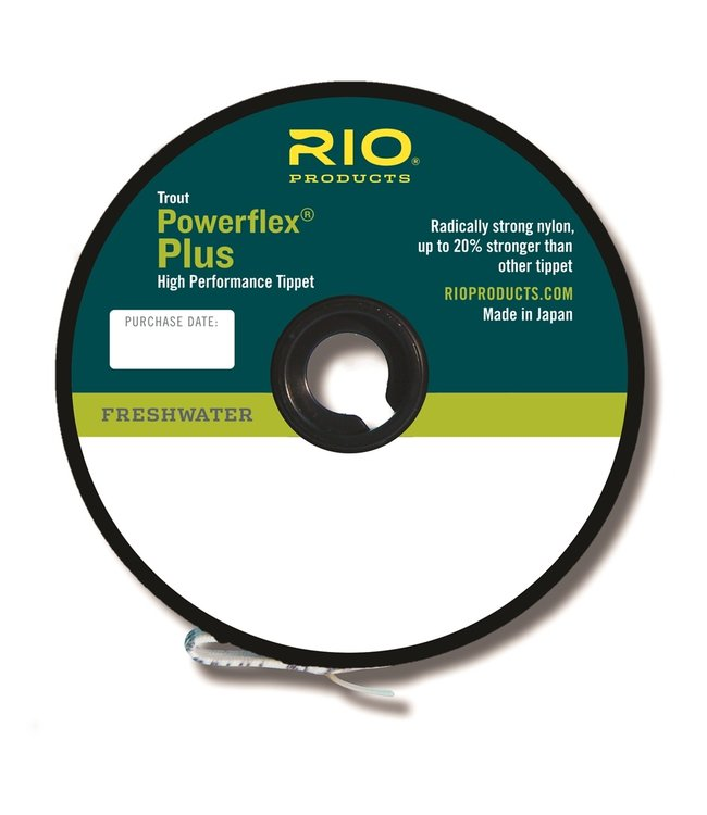 Rio Products Rio Powerflex Plus Tippet 3-Pack 3X-5X