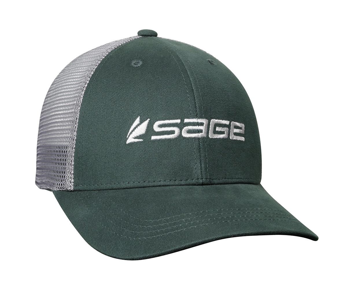 Sage Sage Mesh Back Hat, Dark Green One Size