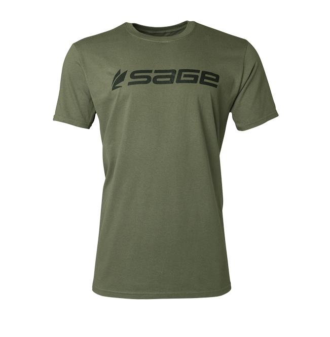 Sage Sage Logo Tee Short Sleeve