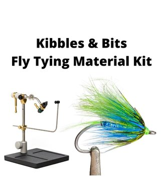 Gig Harbor Fly Shop Staging Salmon Series Fly Tying Kit - Kibbles & Bits