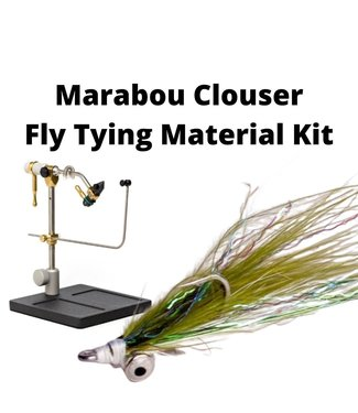 Gig Harbor Fly Shop Marabou Clouser Fly Tying Material Kit