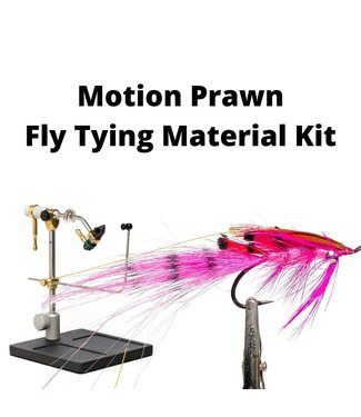 Gig Harbor Fly Shop Jon's Motion Prawn Fly Tying Kit