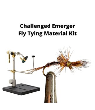Gig Harbor Fly Shop Challenged Emerger Fly Tying Material Kit